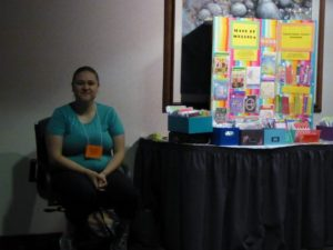 Melinda exhibiting at 2017 Inclusion Institute (640x480)