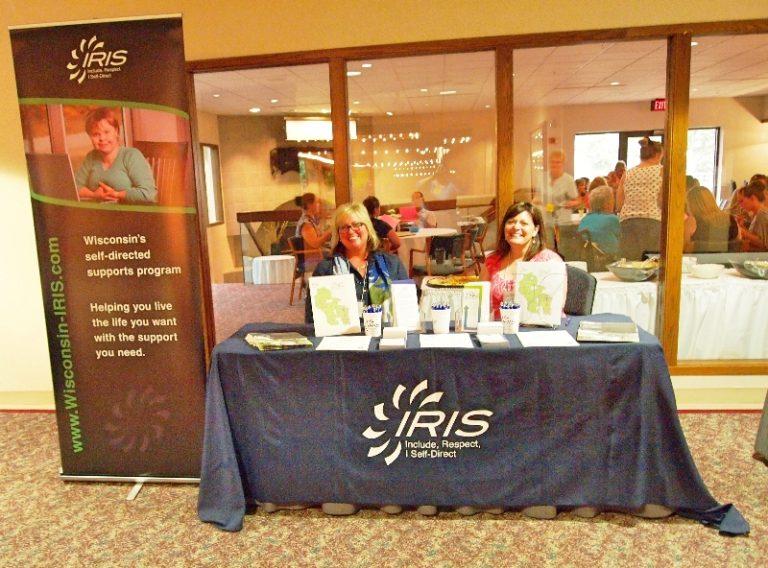vendor booth IRIS
